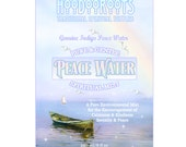 Peace Water Mist - Harmony Potion, Indigo Peace Water, Pure Fragrant Mist, Tranquility Mist, Essential Oils,Natural Perfumery, Hoodoo Roots,