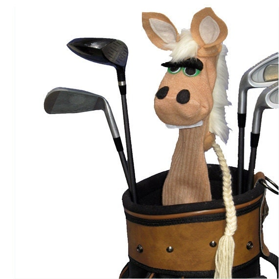 Palomino Horse Handmade Couture Golf Club Cover