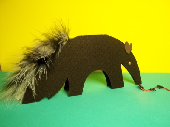 A is for ANTEATER craft kit