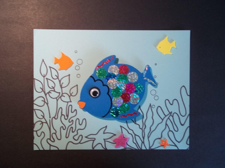 RAINBOW FISH Craft Kit By Kazsmom On Etsy