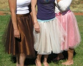 Made-To-Order Adult Satin-Lined Tulle Skirt