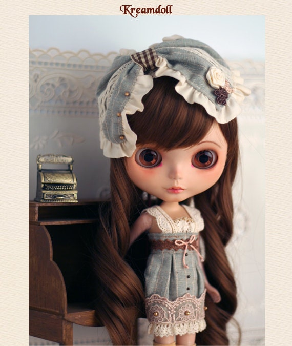 Emerald ribbon- for Blythe