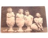 Vintage French Easter Postcard Circa 1930