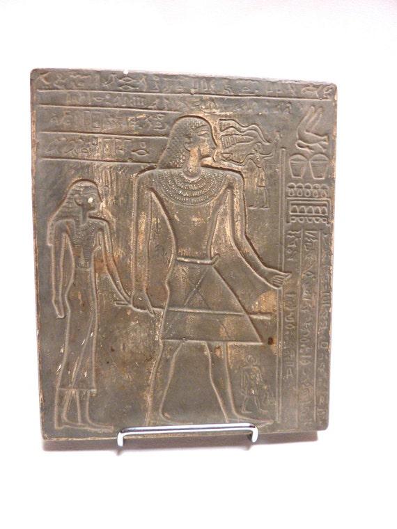 "Pottery Tablet of Replica Egyptian ""Prescription"""