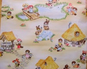 Adorable childrens wallpaper by the yard