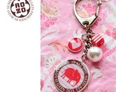 All you need is LOVE / magic pendant with baby elephant