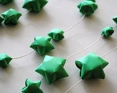 ECO NURSERY BABY decoration origami garland by Allweneedisorigami on Etsy
