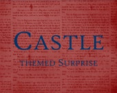 Castle Inspired Surprise Package - Itty Bitty Teeny Tiny Gift - Inspired by the show