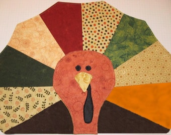 Gobble Gobble - Turkey Placemat - PATTERN ONLY