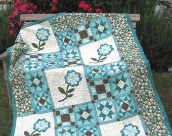 Lori's Puff - n - Stuff: Garden Twist Pattern in 3 sizes