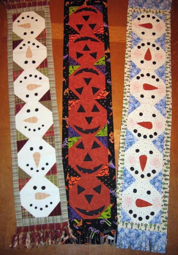 Snowball Mini Table Runner Pattern