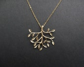 Tree of Life Pendant Necklace in Gold
