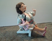 The Mother in Law Cloth Art Doll