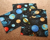 Custom Listing---40 Party Favors-Reusable Sandwich Bags-Realistic Solar System