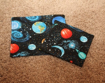 Reusable Sandwich and Snack Bag Combo-Realistic Solar System