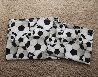 Reusable Sandwich and Snack Bag Combo-Soccer