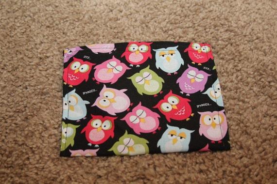 Reusable Sandwich Bag-Owls