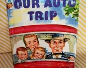 Our Auto Trip, Elf book, GREAT vintage condition.