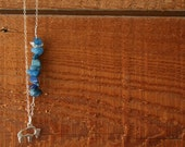 buffalo girl - sterling silver necklace