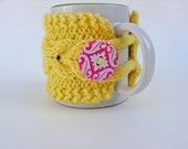 Mug Cozy Hand Knitted