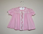VTG Carters embroidered lace polyester infant dress (0 to 3 months) - twinkletotsVintage