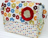 Oh Happy Day - Messenger Style Diaper Bag - IN STOCK