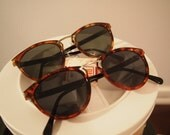 RESERVED for Okuls923 - Vintage Deadstock 80s 90s Tortoise Sunglasses BOTH pairs