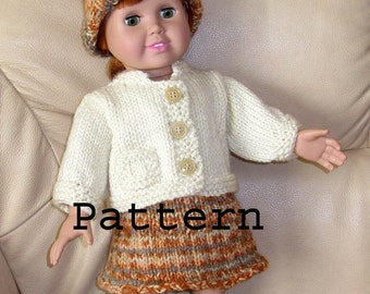 Simple Knitted Doll Patterns : Popular items for easy knit pattern on Etsy