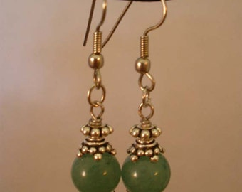 Green Aventine Earrings