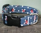 Antique Floral Dog Collar