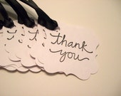 Thank You Tags - Favor Tags - Bridal Shower - Baby Shower - Pick Your Color