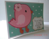 Mother's Day Card - Bird - Lucky to have a mom like you