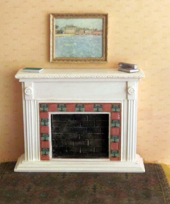 Items Similar To Fireplace Art Tile Antique Style On Etsy
