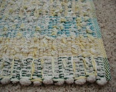 Handwoven Cotton Shaggy Looper Rug (1127B)