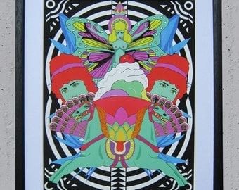 "LSDiva Giclee Print 11"" by 14"" Unframed"