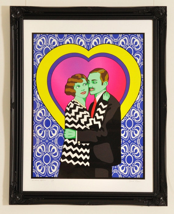 Wedded Bliss Limited Edition Giclee Print