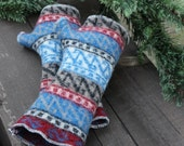 ADULT Felted Wool Fingerless Arm Warmers