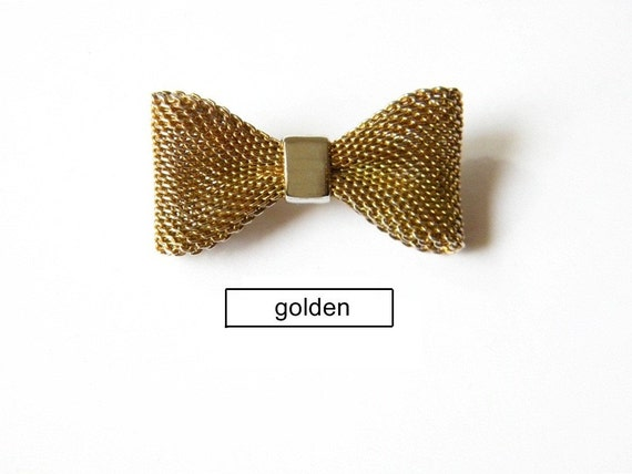 vintage  french bow brooch