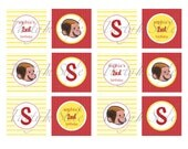 Curious George Party Circles