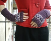 Woolen Wrist Warmers, Handknitted Egde Decorations (made to order)