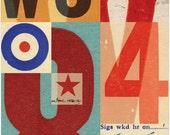Signals: no.5 limited edition print 420 x 594mm