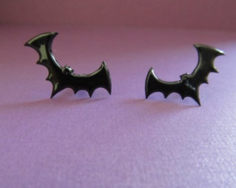 Bat Stud Earrings Halloween Stud earrings, Fall stud earrings