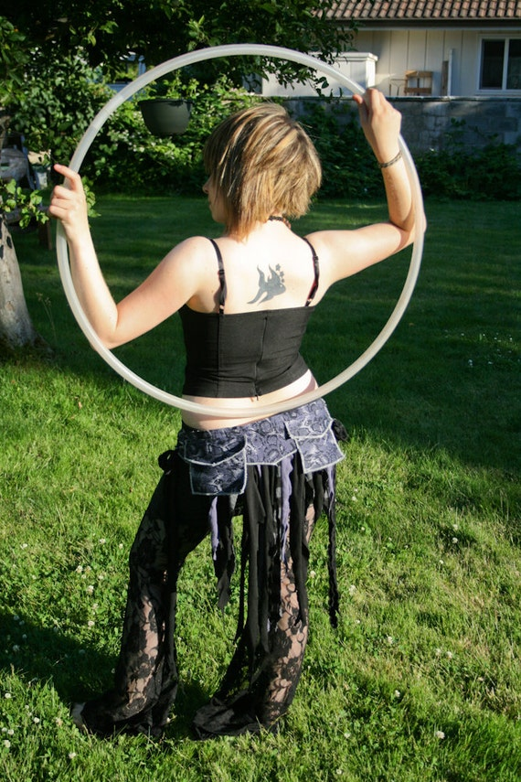 SALE Just the BeginnIng - Bustle Belt with pockets gypsy burning man clothing