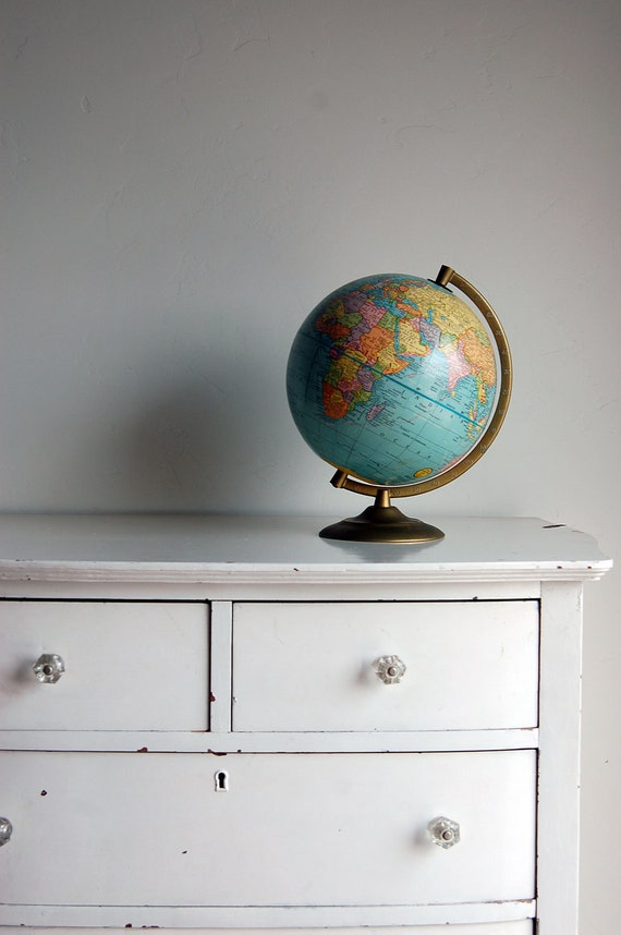 Cram 9-Inch Terrestrial Globe
