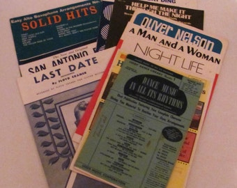 Vintage How To Music Books