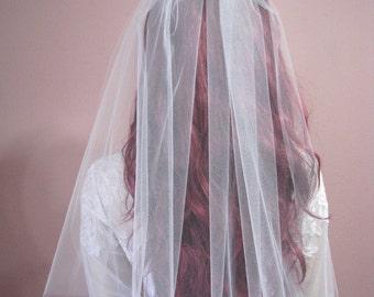 Dreamy Sheer Wedding Veil