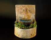 Tuscany Tabletop Fountain with Planter