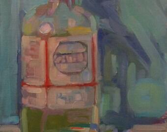 """Original Oil Painting  """"Medium""""   10"""" x 10"""""""