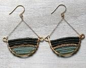 Gold Dang Chandelier Earrings