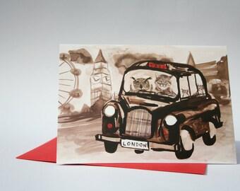 London taxi card